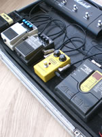 Austyn Brown's Pedal Board
