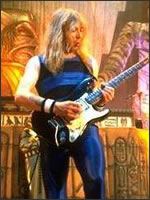 Dave Murray playing his 1957 Stratocaster
