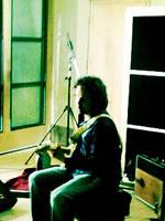 Steve recording at Metropolis Studios
