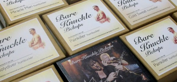 Bare Knuckle Pickups Interview