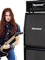 Gus G with his Blackstar Amp stack