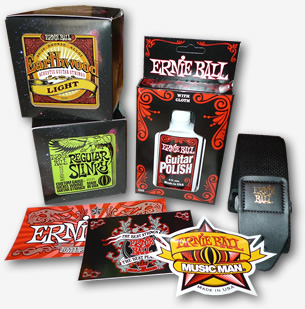 Ernie Ball Competition on Guitar Jar