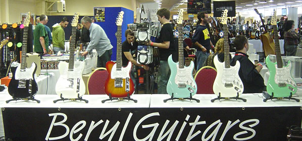 Beryl Guitars Launch New Website and Showroom