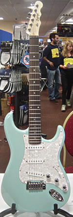 Beryl Studio ST at the 2010 Bristol Guitar Show