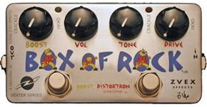 ZVEX Box of Rock overdrive distortion pedal