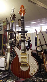 Brian May Guitars at the Bristol Guitar Show