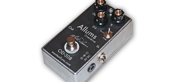 Monte Allums OD-308 Boutique Overdrive Competition