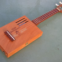 Chickenbone John Cigar Box Guitars