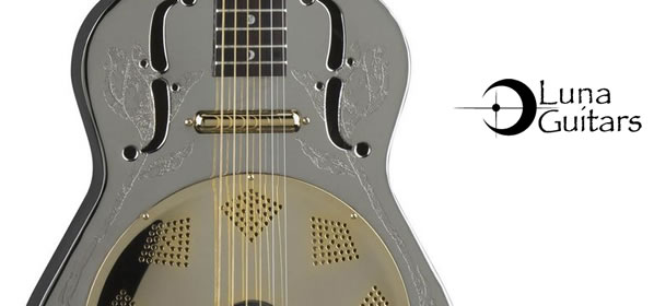 Luna Steel Magnolia Resonator Guitar Review