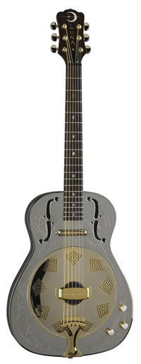 Luna Steel Magnolia Resonator Guitar