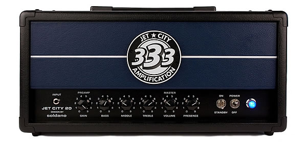 Jet City JCA20H Amplifier Head &#038; 2&#215;12 Cab Review