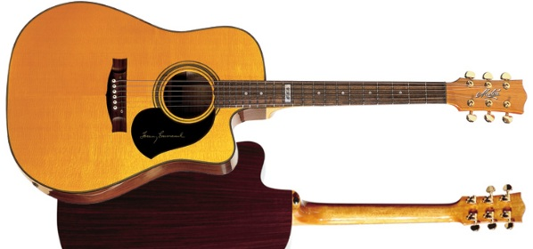 Maton TE1 Artist Tommy Emmanuel Guitar Review