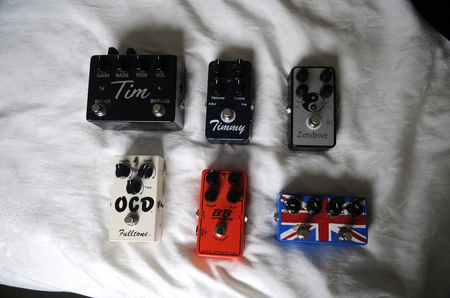 Equipment Shootout: Overdrive Pedals