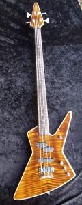 MacPherson Guitars - Custom Explorer Bass