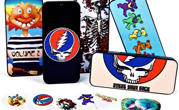 Grateful Dead Plectrum Tins