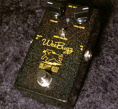 Black Cat Pedals announces the Wee Buzz