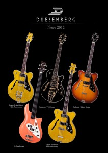 Duesenberg Guitars 2012