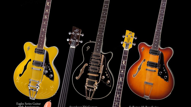 New Duesenberg Guitars for 2012