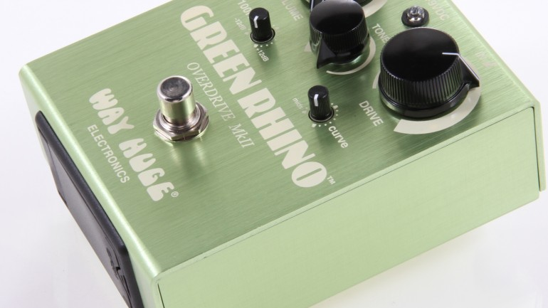 Way Huge Green Rhino Overdrive Pedal Review