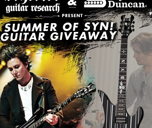 Win a signed Synyster Gates Custom Guitar from Schecter