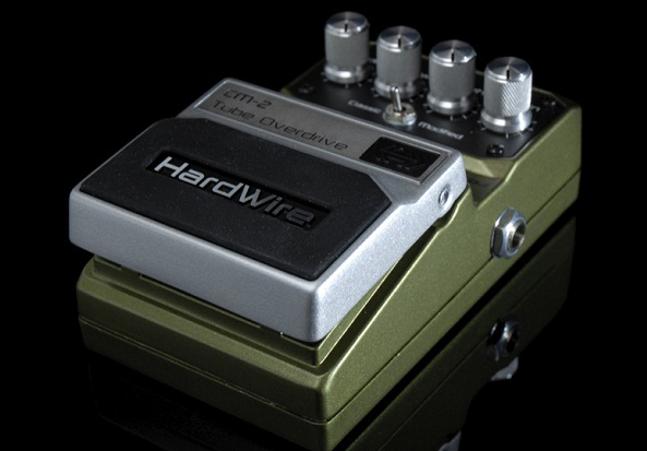 Digitech Hardwire CM-2 Tube Overdrive Pedal Review