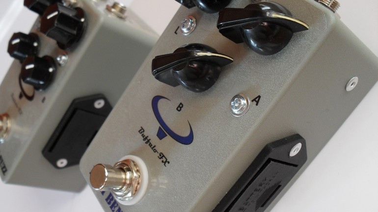 Buffalo FX introduces Germanium Fuzz and Tonebender MkII