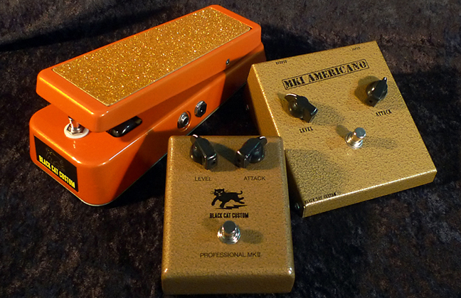 Black Cat Custom Pedals Now Availalble