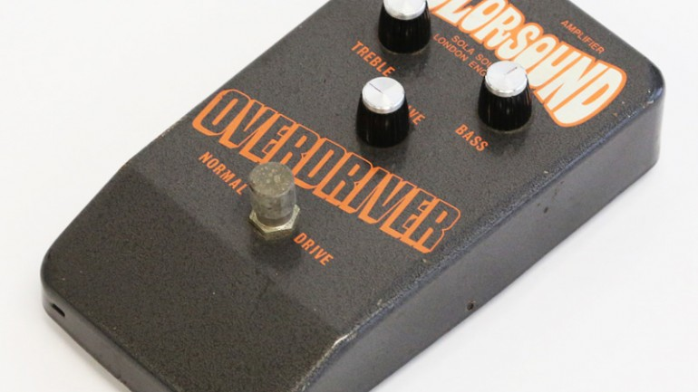 1970's Colorsound Overdriver Pedal Review