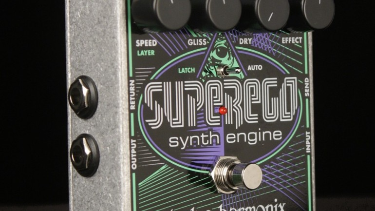 Win an Electro-Harmonix SuperEgo Synth Engine Pedal