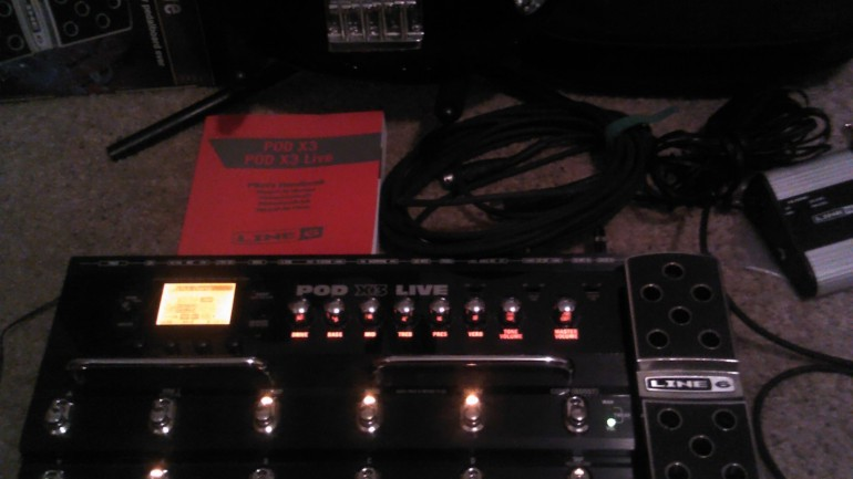 Line 6 POD X3 Live Amp and Multi-Effects Modelling Review