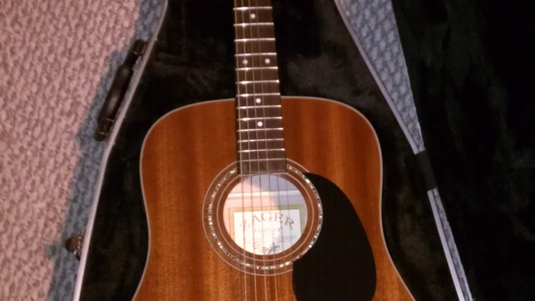 Zager ZAD20e Acoustic Guitar Review