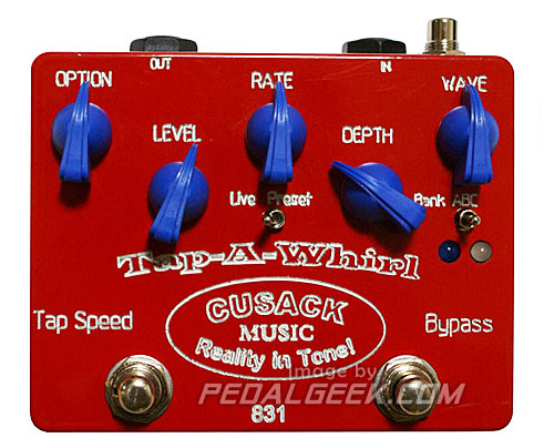 Cusack Tap-A-Whirl Tremolo Pedal Review