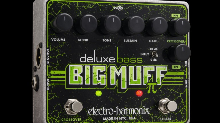 Electro-Harmonix releases the Deluxe Bass Big Muff Pi