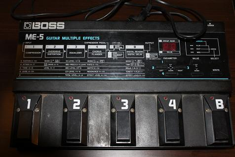 BOSS ME-5 Multi-Effects Review