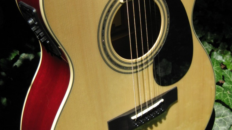 Zager ZAD50CE OM Acoustic Guitar Review