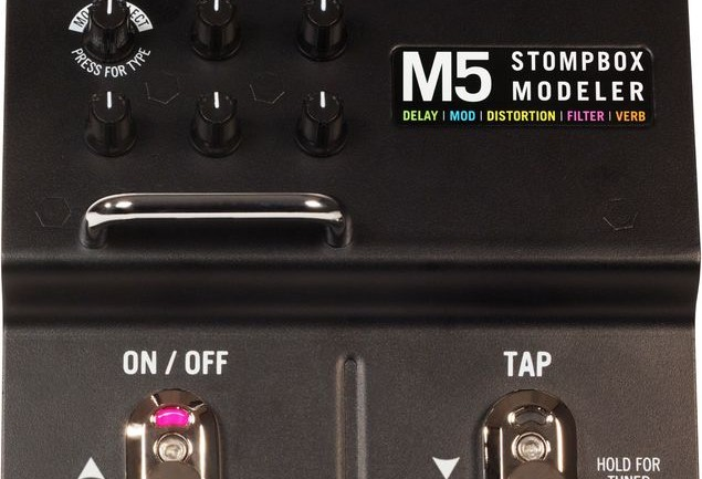 Line 6 M5 Stompbox Modeler Review