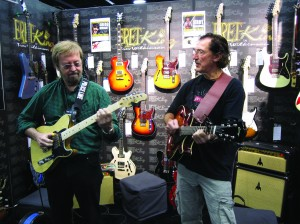 Jerry Donahue and Freebo NAMM 2013