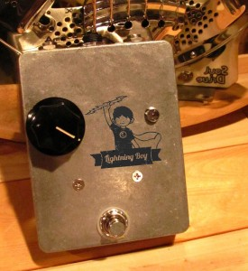 Lightning Boy Tube Drive Pedal