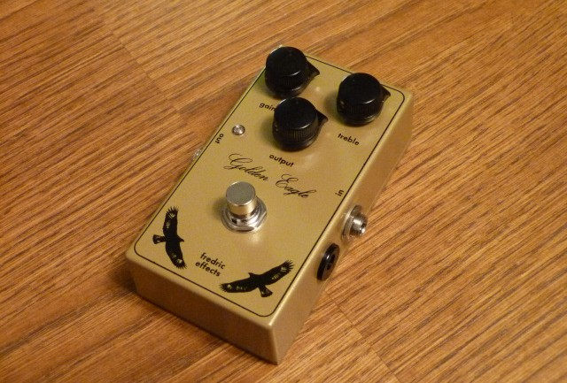 Fredric Effects announce the Golden Eagle Overdrive/Boost