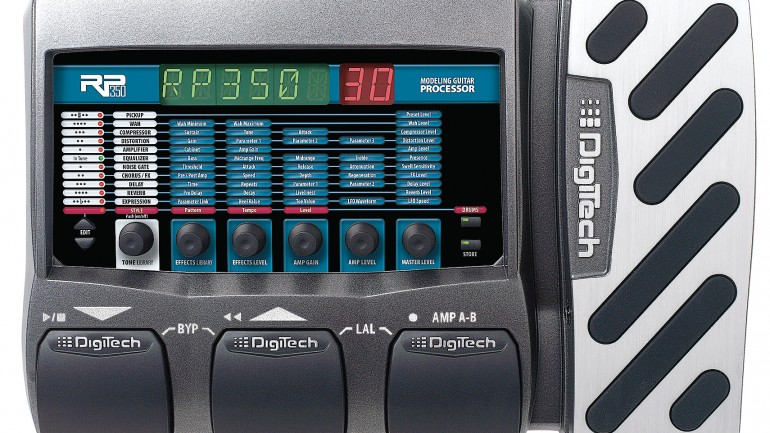 Digitech RP350 Multi-effects Pedal Review