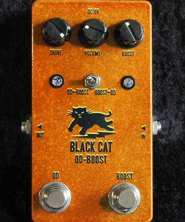 Black Cat Pedals Announce the OD-Boost