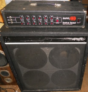 Sunn Beta Lead Amplifier