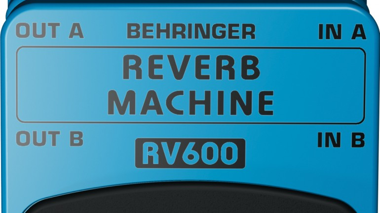 Behringer RV600 Reverb Machine Review