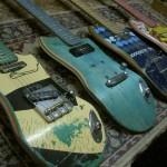 Reusing Skateboards as Guitars