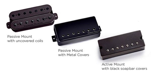 Seymour Duncan Releases Sentient 7 & 8 String Neck Pickup