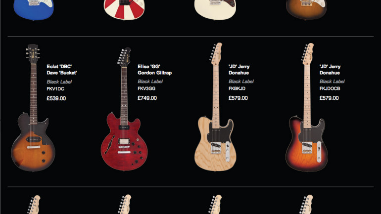 Fret-King launches all-new website that lets players buy direct