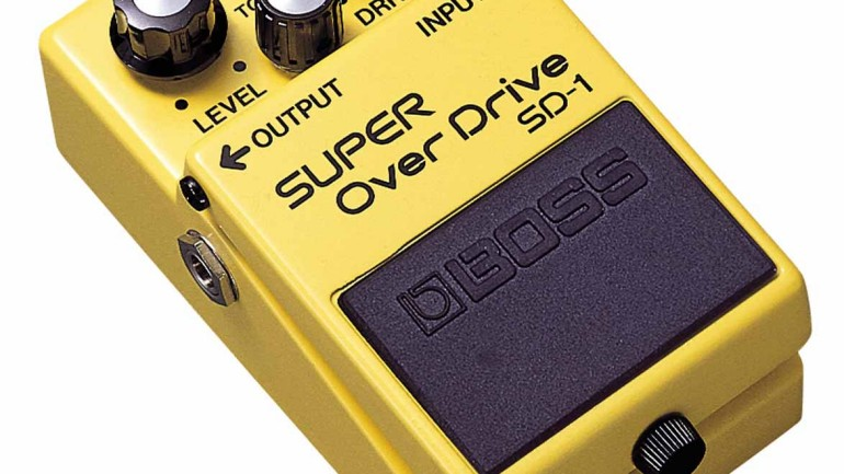 Boss SD-1 Super Overdrive Pedal Review