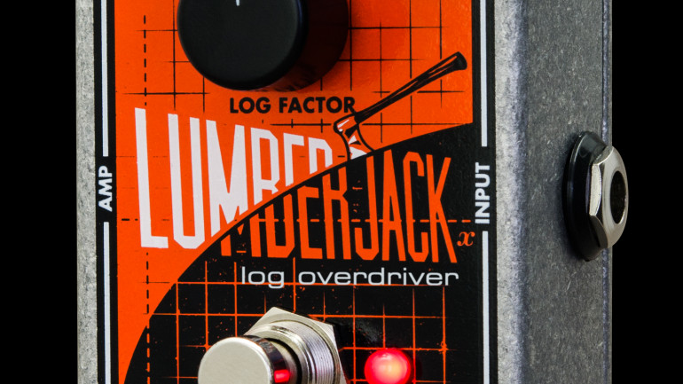 Electro-Harmonix Release the Lumberjack Overdrive Pedal