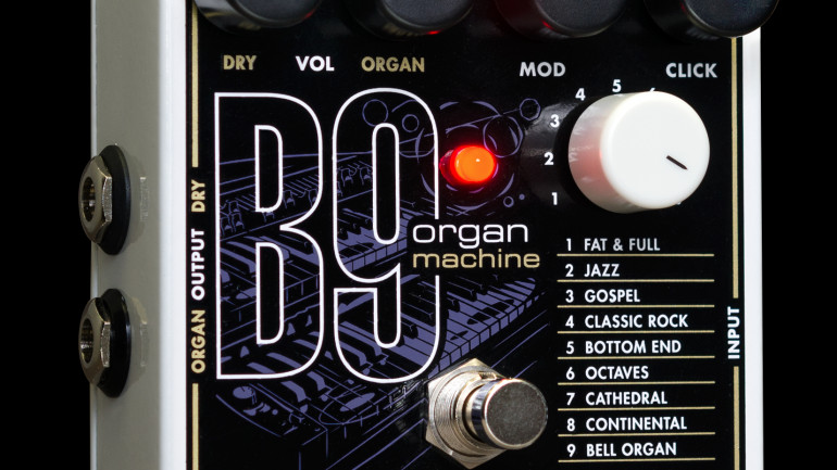 Electro-Harmonix Release the B9 Organ Machine
